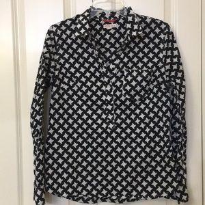 Half Button Collared Shirt